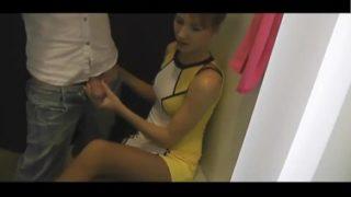 Amateur panty handjob
