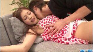 Suzuka Ishikawa krijgt creampie in haar strakke kutje