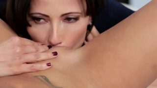 Alina Li Caught Masturbating by Stepmom
