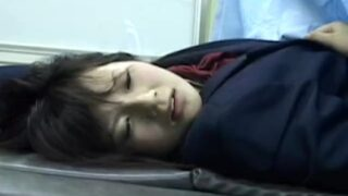 Japanese schoolgirl at gynecologist TASH061_18