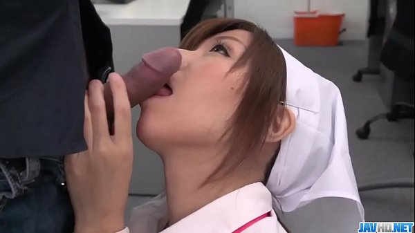 Milf Chihiro Akino fucked savagely by a Japanese dick